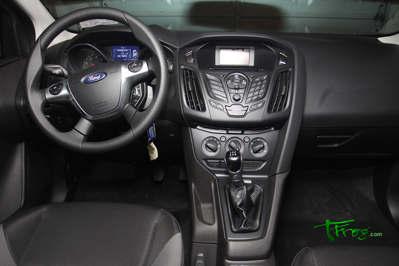 Was ford sync which i did want and manual transmission was a must