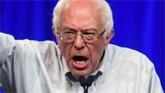 Bernie Jumps In