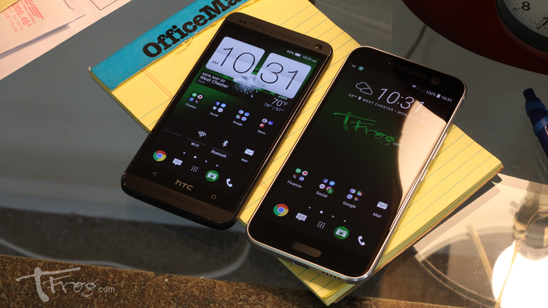 HTC One M7 and HTC 10